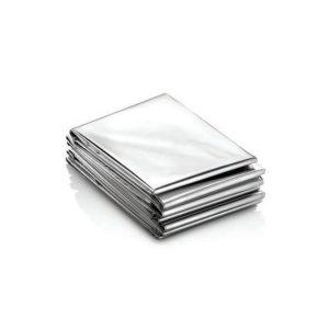 Telo termico in foglia d'argento