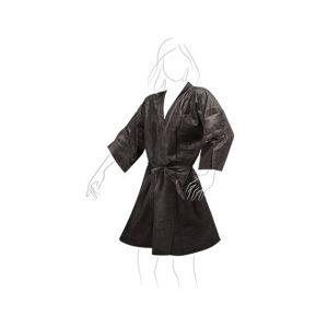 Kimono monouso in TNT nero