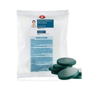 Cera a caldo in dischetti verde clorofilla 1kg