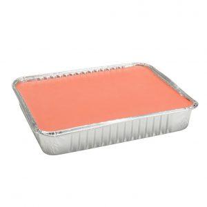 Cera a caldo in vaschetta titanio rosa 1kg