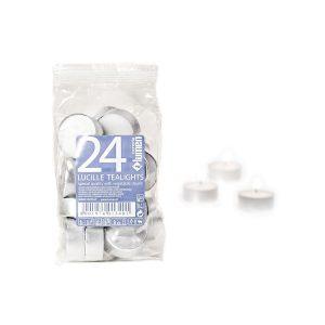 Tealights in alluminio