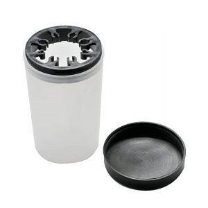 Contenitore in plastica per la pulizia dei pennelli
