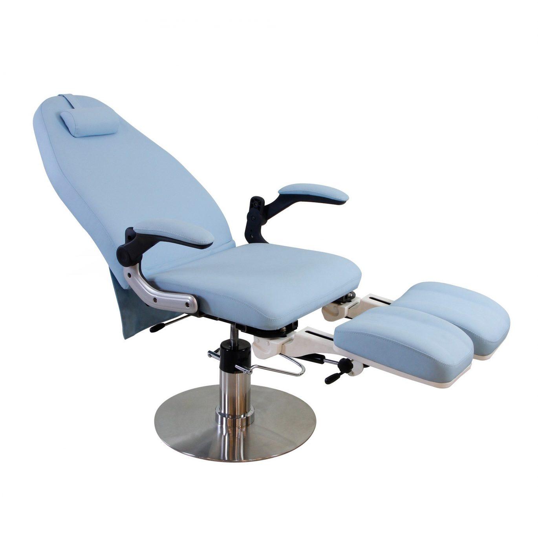 ALCOR poltrona pedicure idraulica colore bianco / azzurro ...