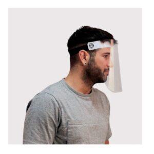Visiera protettiva in plexyglass fissa e ultraleggera